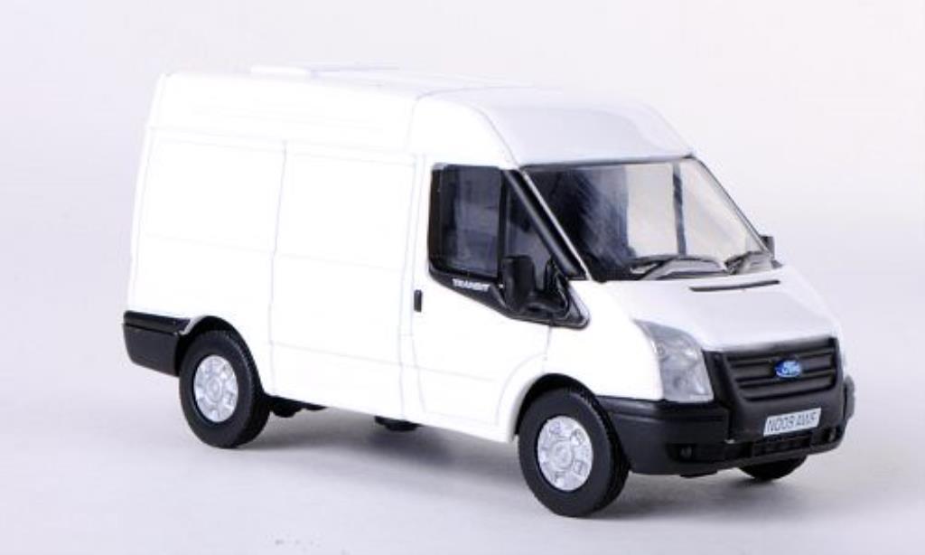 Ford Transit 1/76 Oxford Kasten blanche RHD Mittelhochdach 2010 miniature