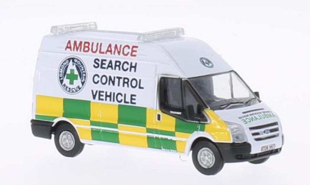 Ford Transit 1/76 Oxford Lomond Mountain Rescue miniature
