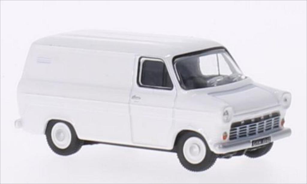 Ford Transit 1/76 Oxford Mk1 blanche RHD miniature