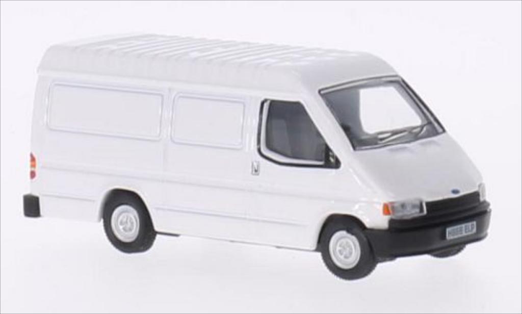 Ford Transit 1/76 Oxford MkIII blanche RHD miniature