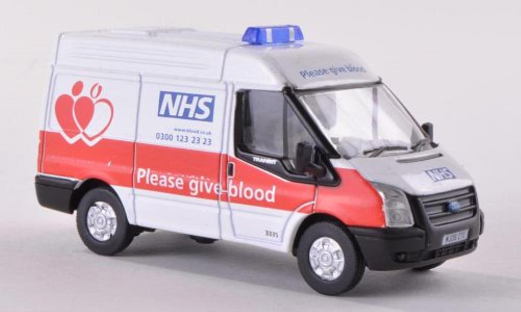 Ford Transit 1/76 Oxford NSA Blood Donor Van miniature