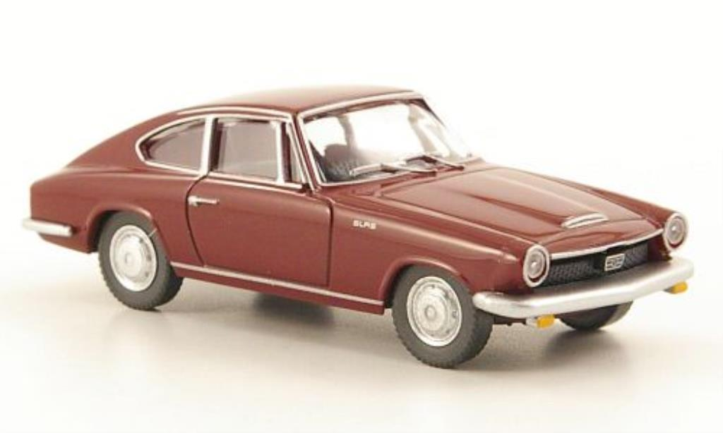 Glas 1700 1/87 Wiking GT Coupe rouge miniature
