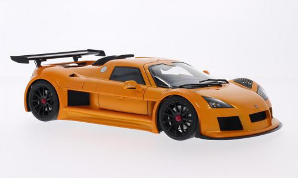 Gumpert Apollo 1/18 Autoart S metallise orange 2005 miniature