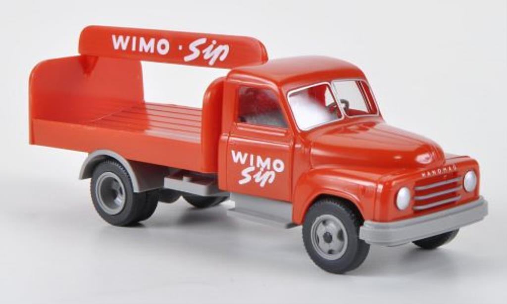 Hanomag L28 1/87 Wiking Diesel WIMO Sip Getranke-LKW miniature