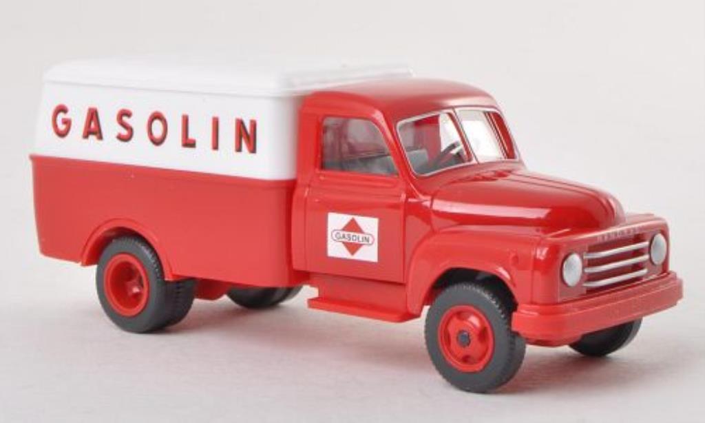 Hanomag L28 1/87 Wiking Gasolin Kasten-LKW miniature