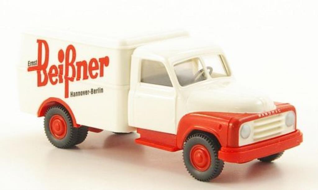 Hanomag L28 1/87 Wiking Kasten Beissner miniature