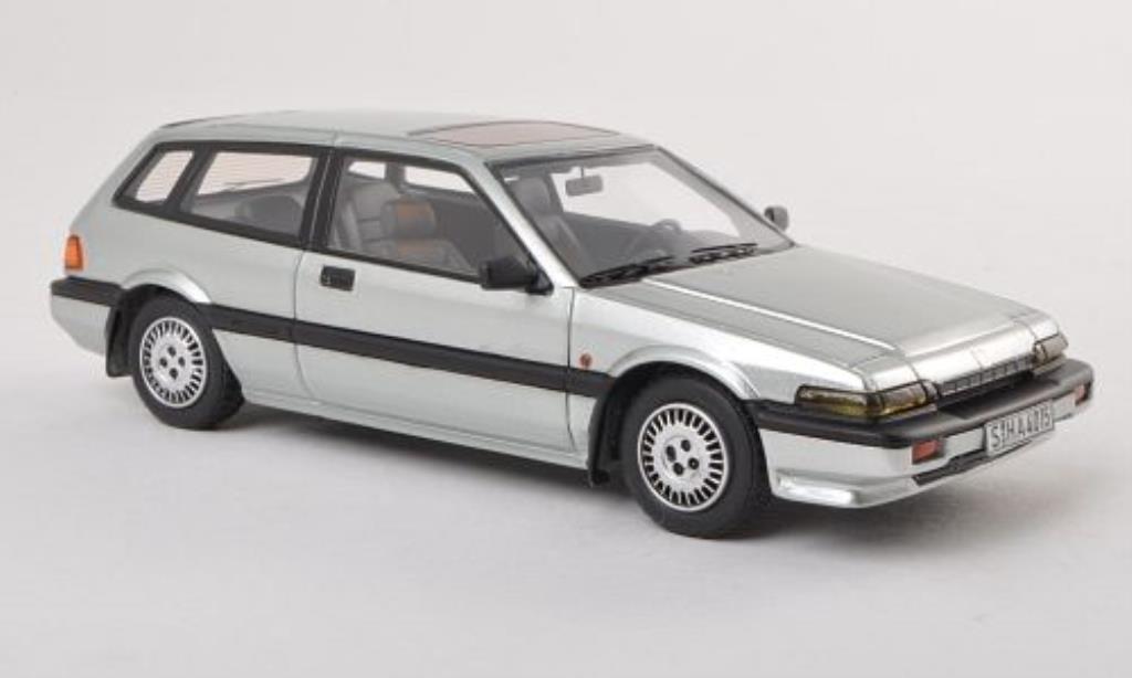Honda Accord 1/43 Neo Aerodeck grise 1985 miniature