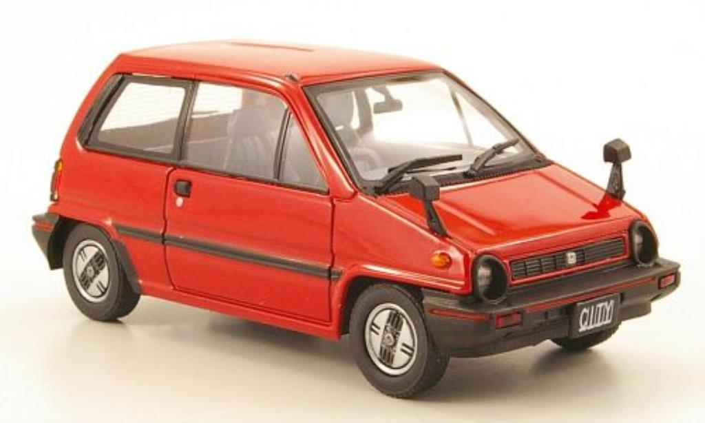 Honda City 1/43 Ebbro rouge 1981 miniature
