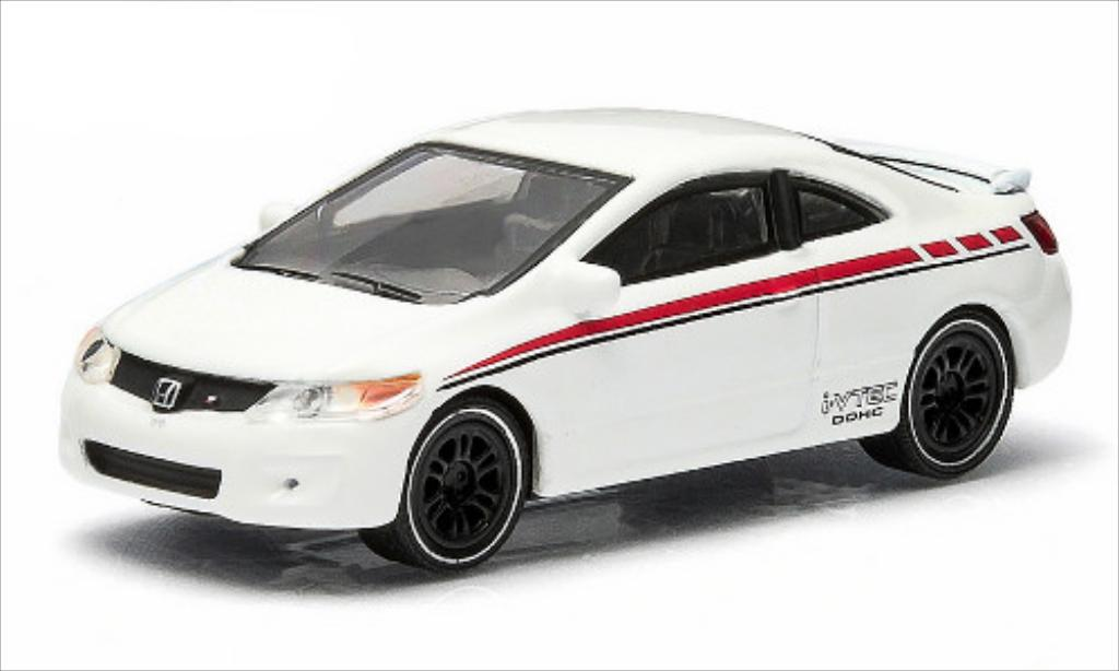 Honda Civic 1/64 Greenlight SI blanche 2010 miniature