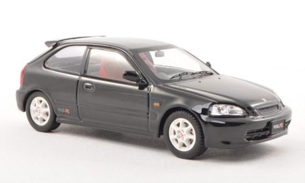 Honda Civic 1/43 Ebbro Type R (EK9) black RHD fruhe Ausfuhrung diecast model cars