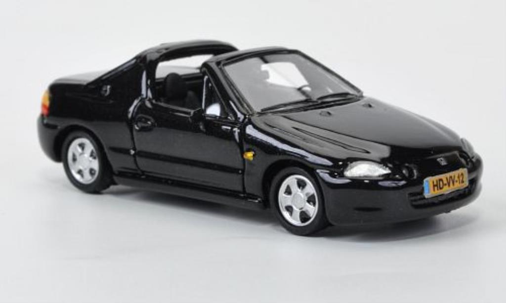 Honda CRX 1/87 Neo del Sol noire 1992 miniature