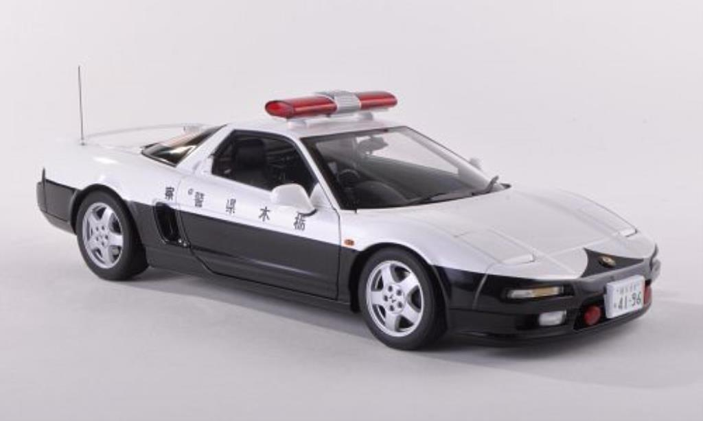 Honda NSX 1/18 Autoart Polizei Japan 1990 diecast model cars