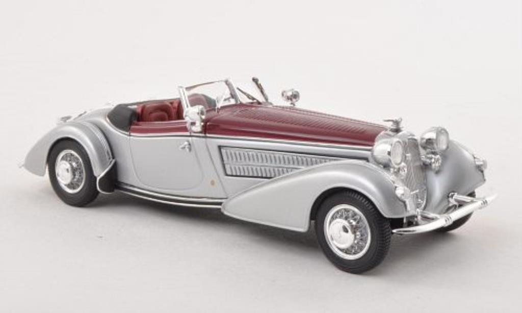 Horch 855 1/43 Minichamps Spezial-Roadster grise/rouge 1938
