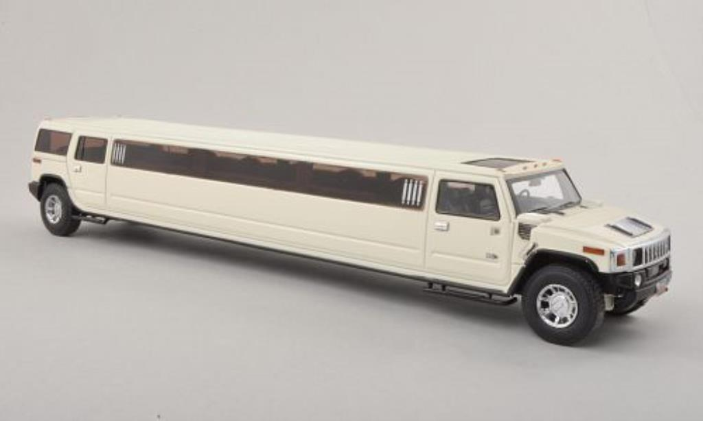 Hummer H2 1/43 Neo Stretch Limousine white diecast model cars