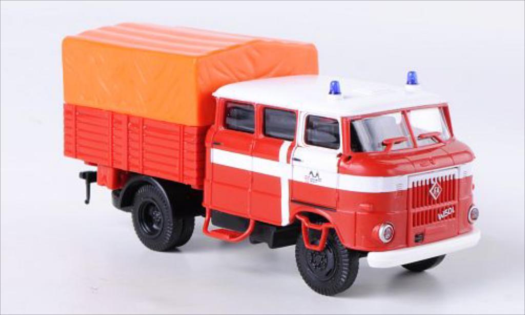 IFA W50L 1/87 Espewe RTGW Feuerwehr Erfurt miniature