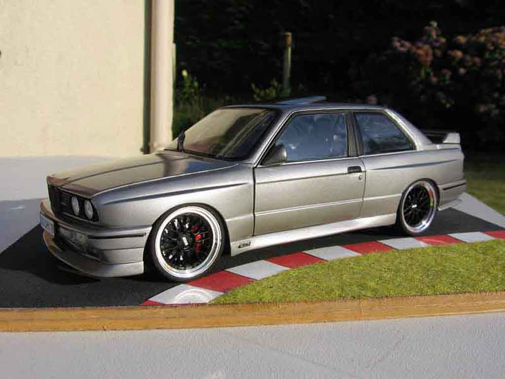 Bmw M3 E30 1/18 Autoart dm performance diecast