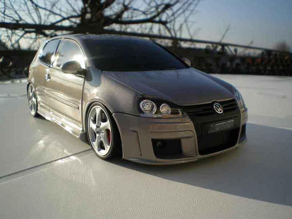 Volkswagen Golf V GTI 1/18 Norev zender jantes porsche diecast