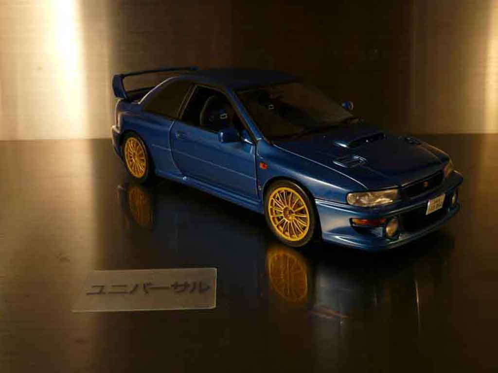 Subaru Impreza 22B 1/18 Autoart tuning miniature