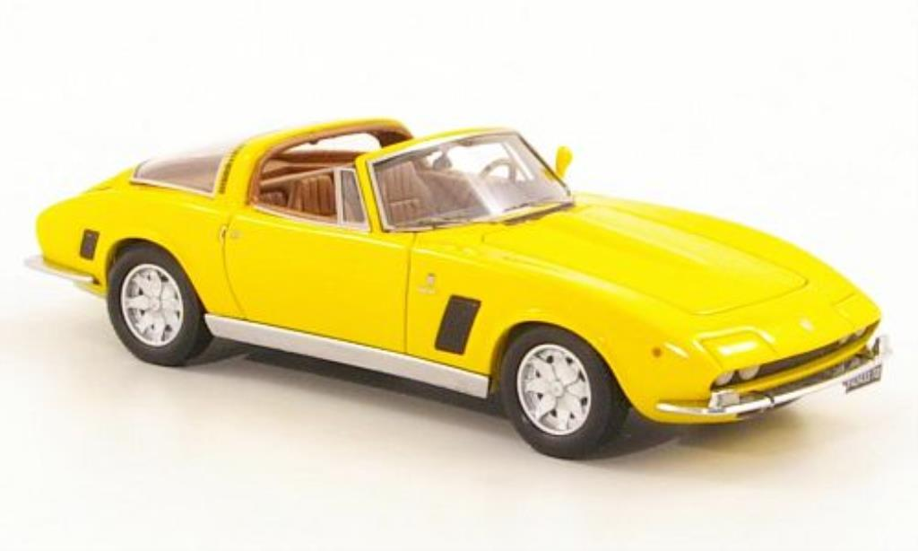 ISO Grifo 1/43 Neo IR8 Targa jaune 1972 miniature