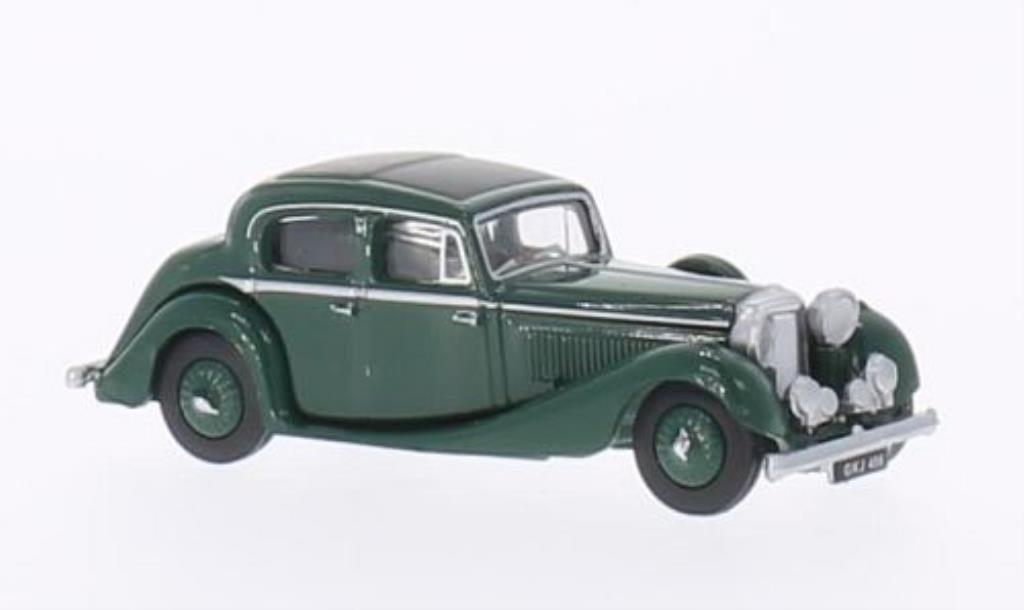 Jaguar SS 1/76 Oxford 2.5 Litre green 1937 diecast