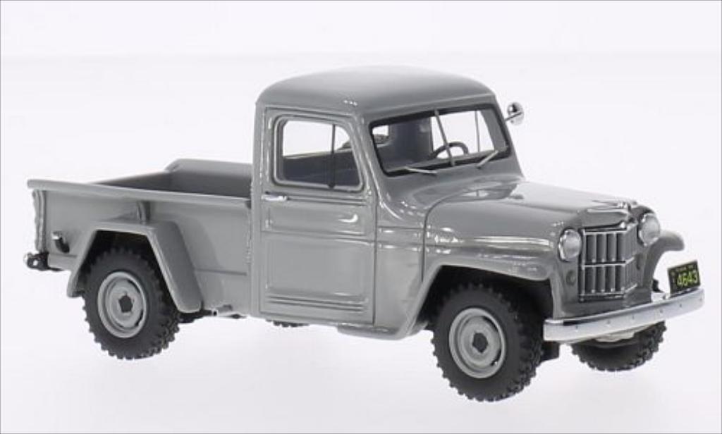 Jeep Willys 1/43 Neo Pick Up gris 1954 miniatura