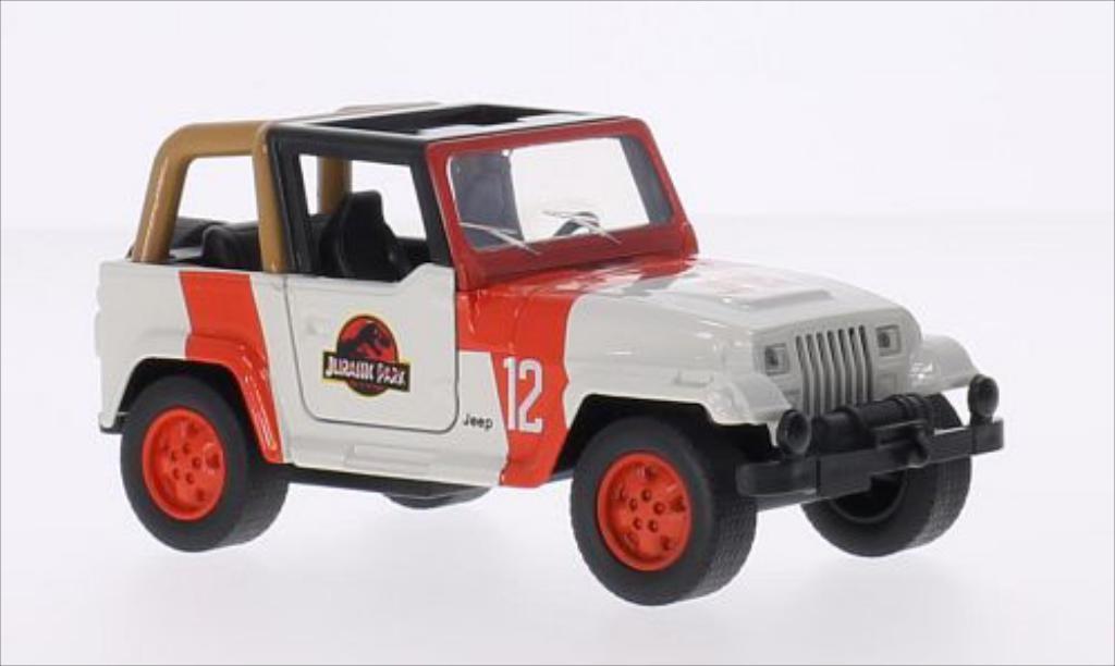 Jeep Wrangler 1/43 Jada Toys Jurassic Park miniature