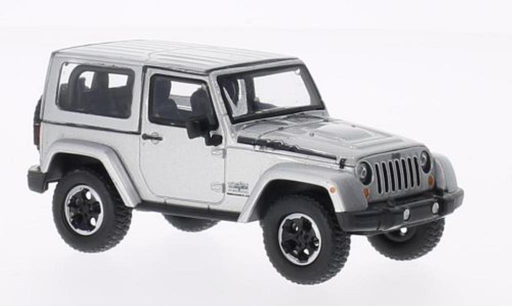 Jeep Wrangler 1/43 Greenlight Polar Edition grise 2014 miniature