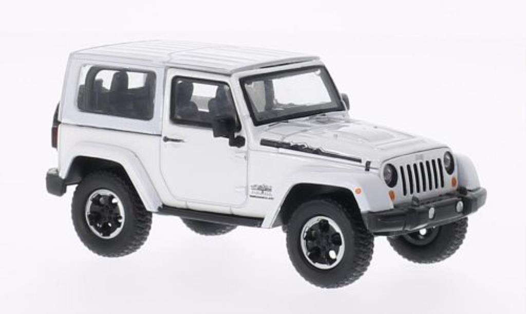 Jeep Wrangler 1/43 Greenlight Polar Edition blanche 2014 miniature