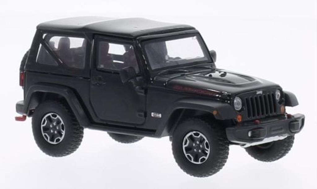 Jeep Wrangler 1/43 Greenlight Rubicon 10th Anniversary noire 2013 miniature