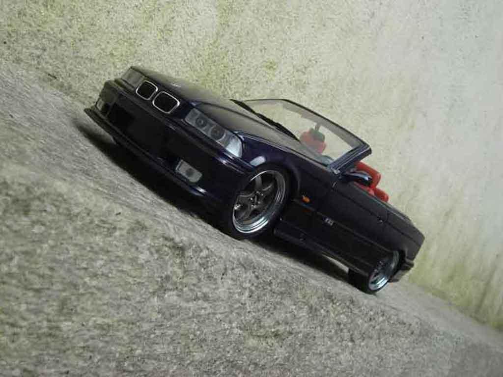 Bmw M3 E36 cabriolet 1/18 Ut Models jantes kinesis diecast