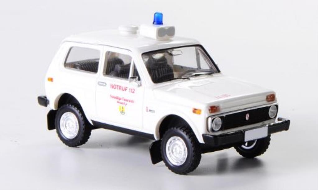 Lada Niva 1/87 Brekina Freiwillige Feuerwehr Hornum/Sylt diecast