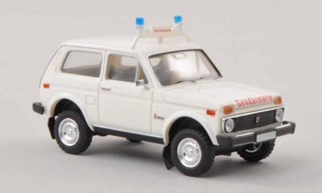 Lada Niva 1/87 Brekina Gendarmerie Polizei (A) diecast