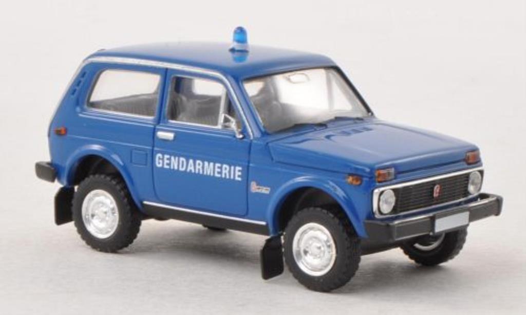 Lada Niva 1/87 Brekina Gendarmerie Polizei (F) diecast