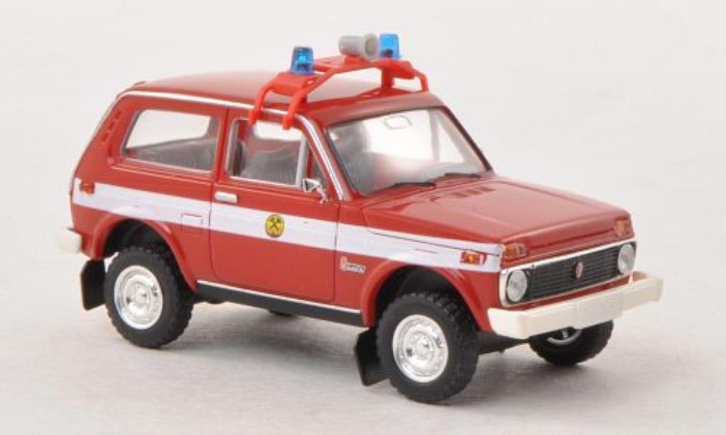 Lada Niva 1/87 Brekina Grubenwehr miniature