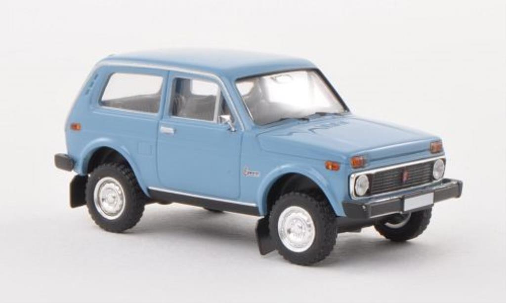 Lada Niva 1/87 Brekina bleu diecast