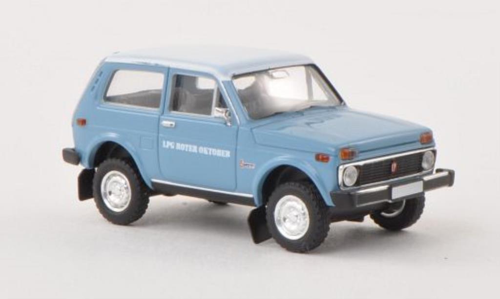 Lada Niva 1/87 Brekina LPG rougeer Oktober miniature