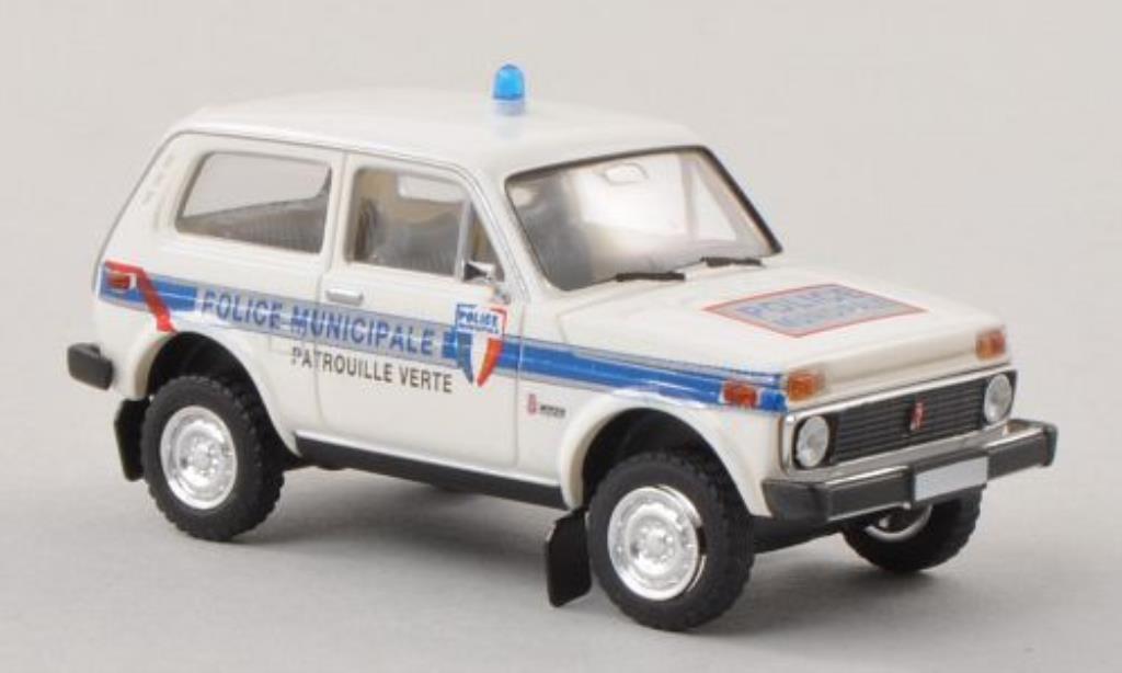 Lada Niva 1/87 Brekina Police Municipale - Patrouille Verte Polizei (F) miniature