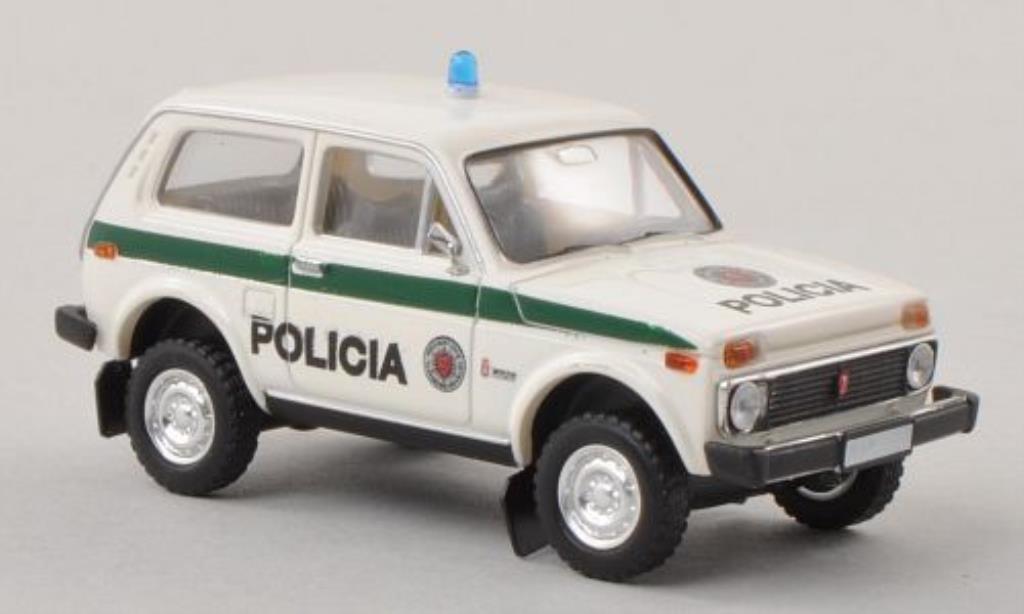 Lada Niva 1/87 Brekina Policia Polizei (SLO) miniature