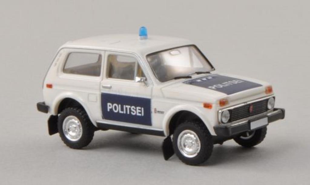 Lada Niva 1/87 Brekina Politsei (EST) diecast