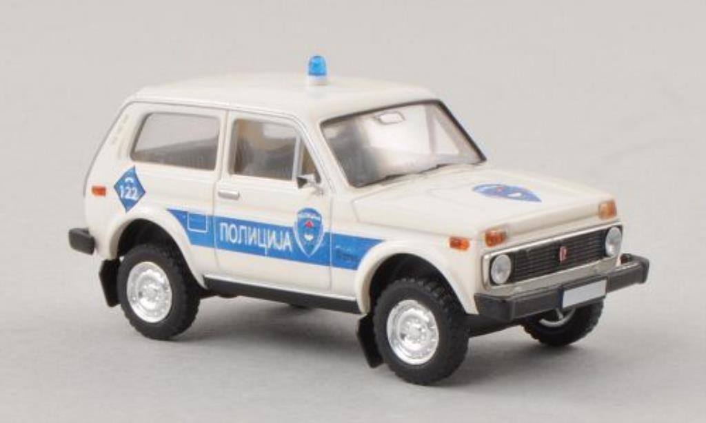 Lada Niva 1/87 Brekina Polizei Bosnien (BIH) diecast