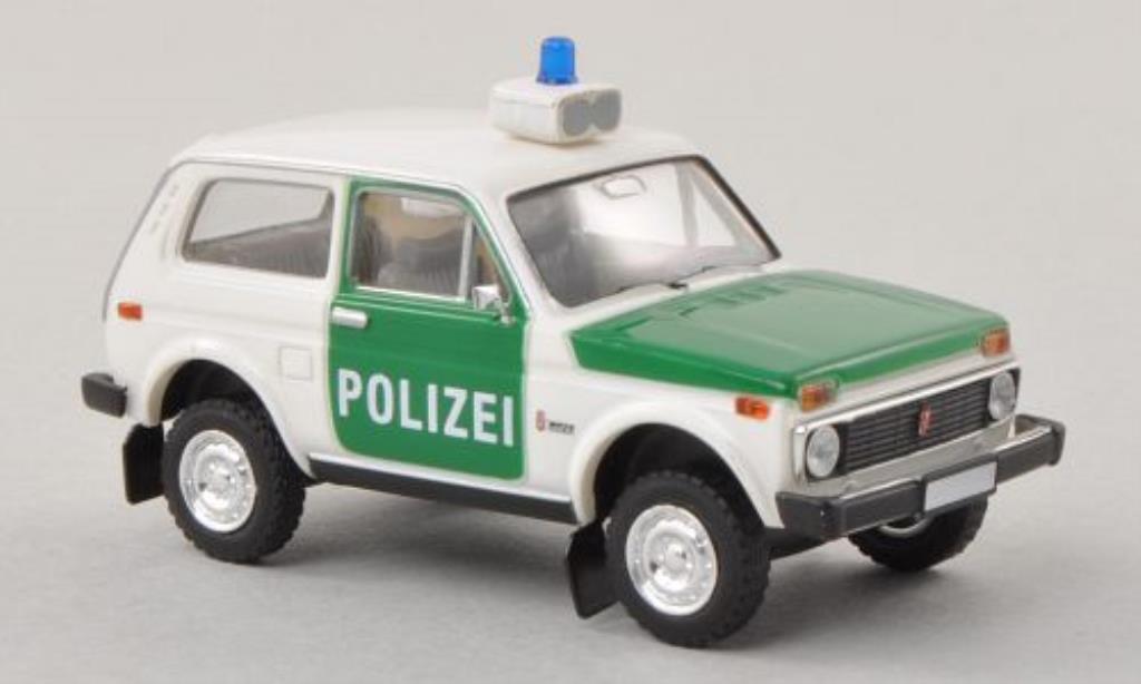Lada Niva 1/87 Brekina Polizei modellautos