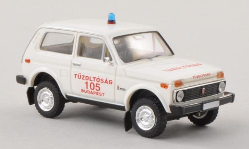 Lada Niva 1/87 Brekina Tuzolt?sssg Budapest Feuerwehr (HUN) miniature