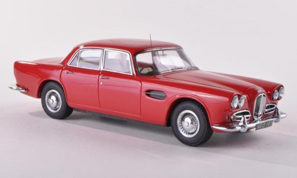 Lagonda Rapide 1/43 Neo rouge RHD 1961 miniature
