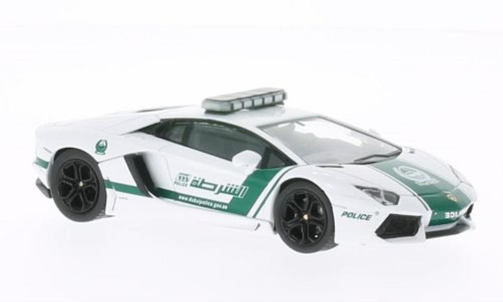 Lamborghini Aventador LP700-4 1/43 IXO Dubai Polizei 2012 diecast