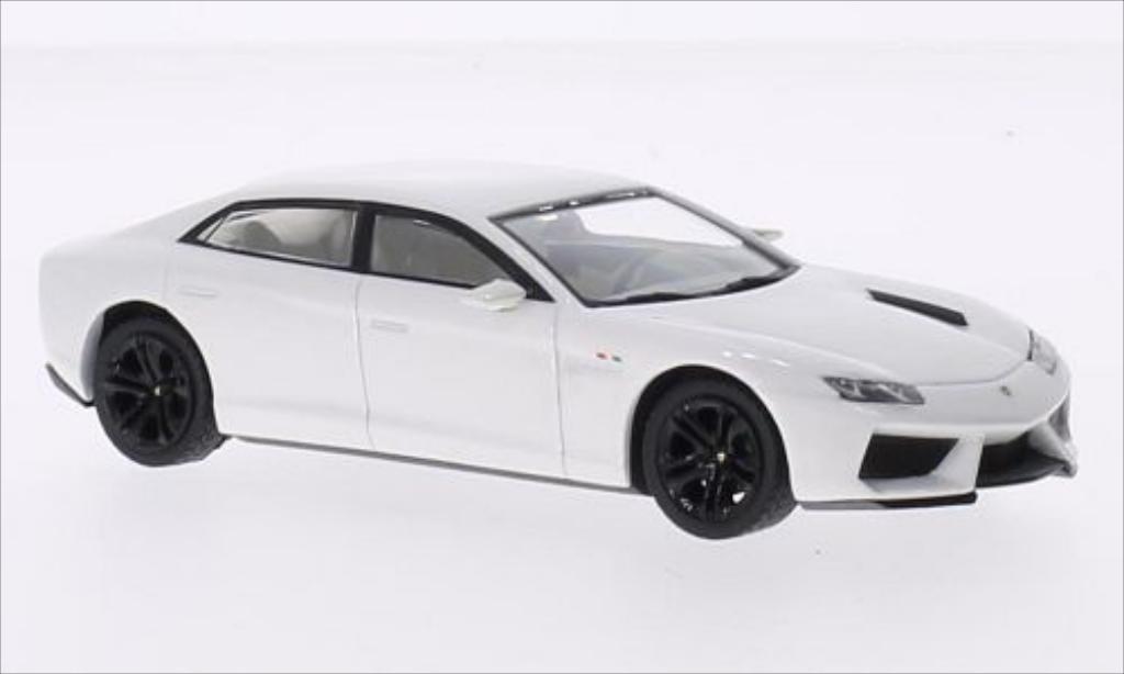 Lamborghini Estoque 1/43 IXO 200 metallic-white 2008 diecast