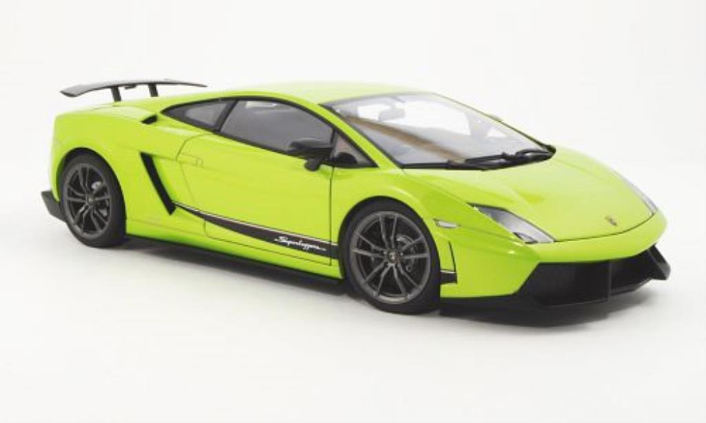 Lamborghini Gallardo LP570-4 1/18 Autoart Superleggera green 2010