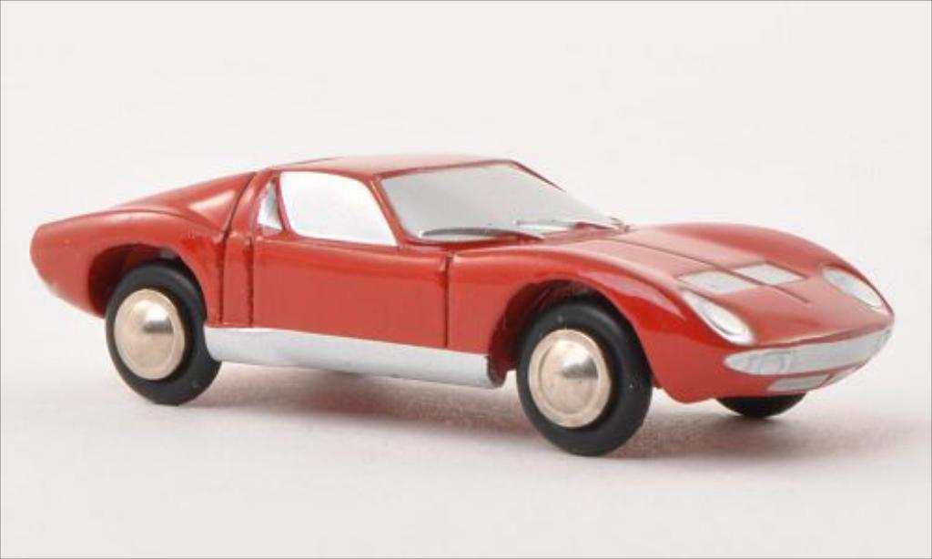 Lamborghini Miura 1/90 Schuco rosso