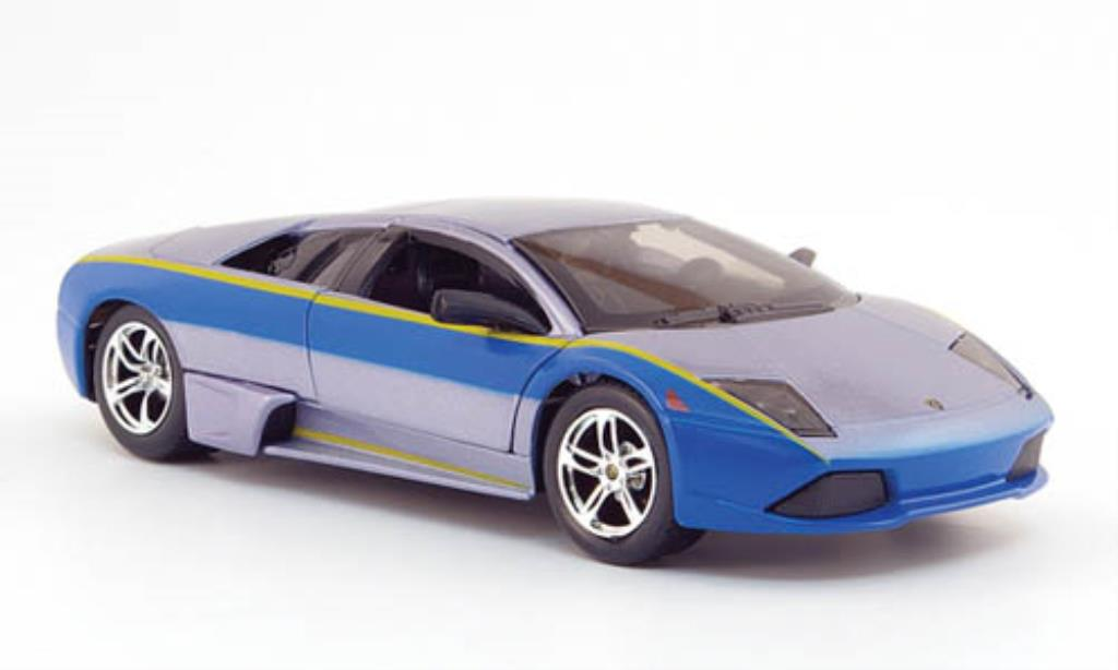 Lamborghini Murcielago LP640 1/24 Maisto grise/bleu Need For Speed miniature