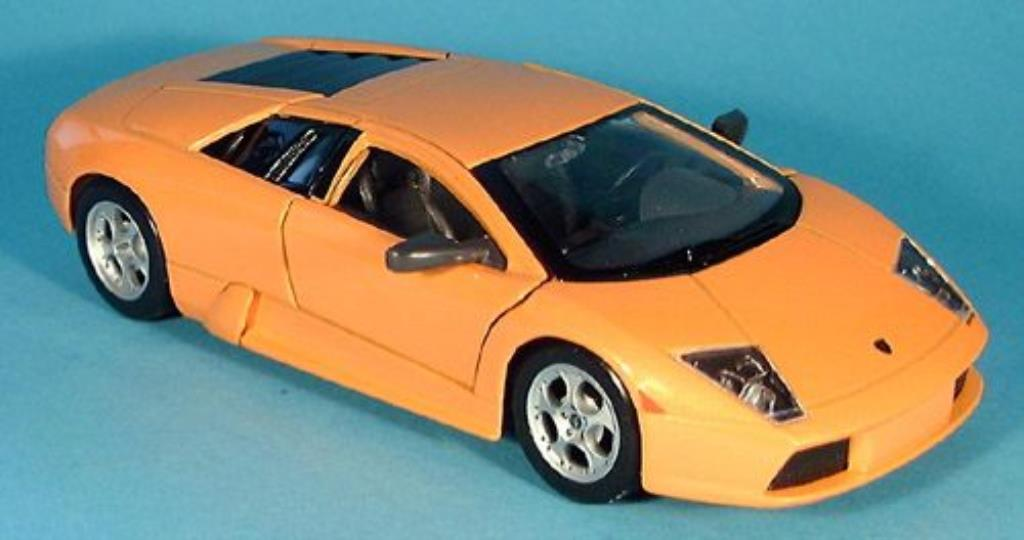 Lamborghini Murcielago 1/24 Maisto orange 2001 miniature