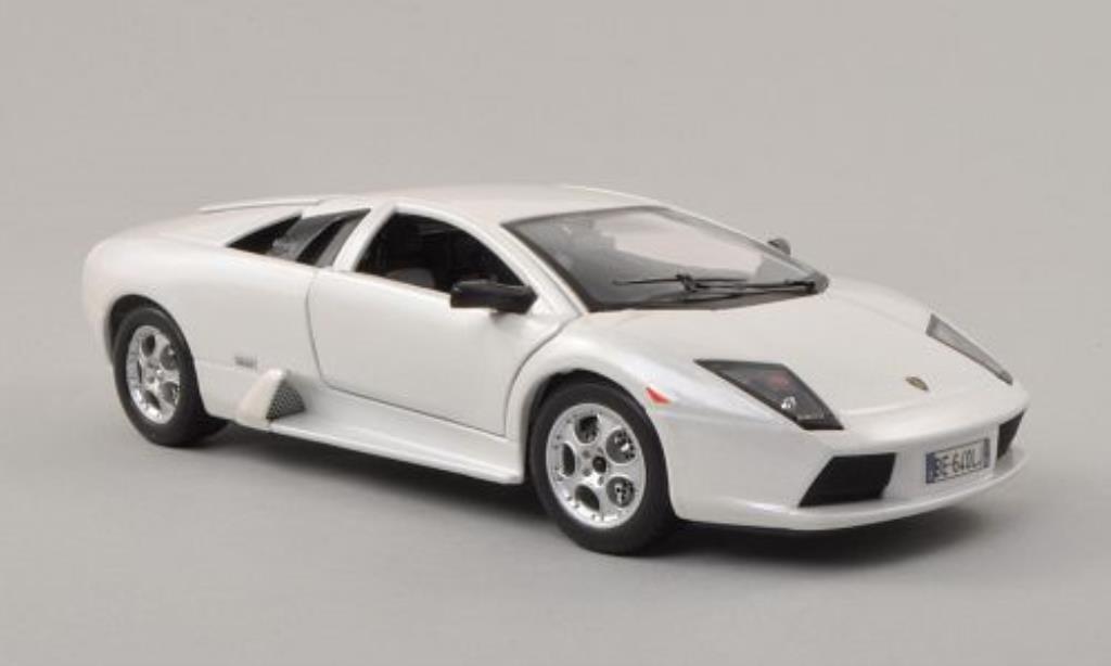 Lamborghini Murcielago 1/24 Burago white 2002 diecast